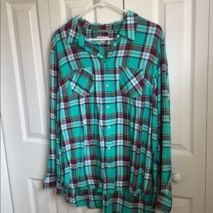 Button Up Collard Shirt